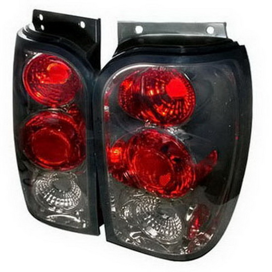 98-01 Ford Explorer Altezza Style Smoke Euro Tail Lights