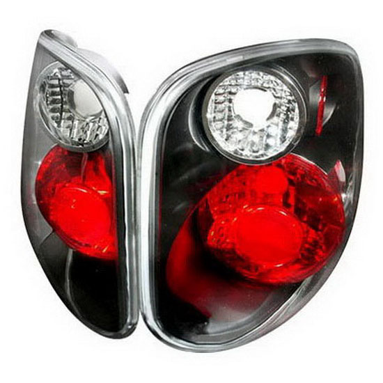 01-03 Ford F150 Altezza Style Black Euro Tail Lights