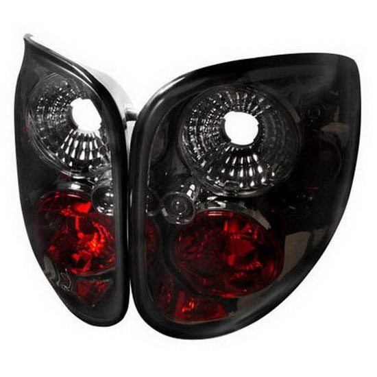 97-00 Ford F150 Altezza Style Smoke Euro Tail Lights