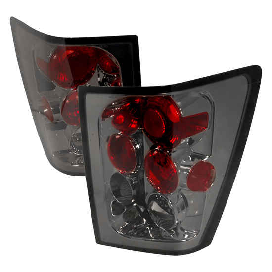 05-06 Jeep GRAND CHEROKEE Smoked Lens Euro Style Altezza Tail Lights