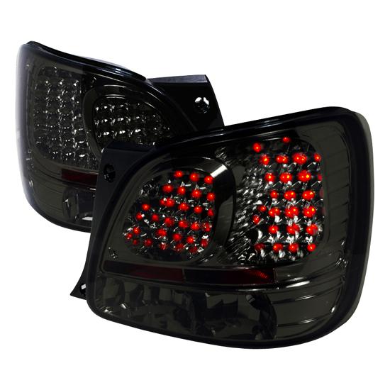 98-00 Lexus GS 300/400 Clear/Smoke Lens LED Tail Lights