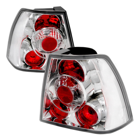 99-04 Volkswagen Jetta Altezza Style Chrom Euro Tail Lights