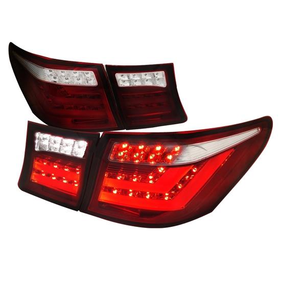 07-09 Lexus LS460 Red LED Tail Lights