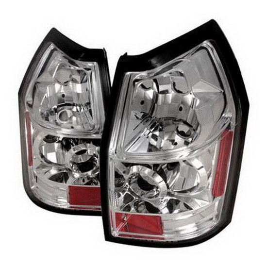 05-07 Dodge Magnum Altezza Style Chrome Euro Tail Lights