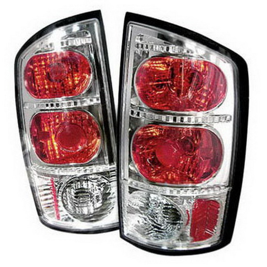 02-05 Dodge Ram Altezza Style Chrome Euro Tail Lights