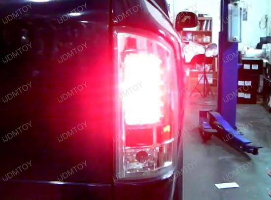 02-06 Dodge RAM 1500/2500/3500 Chrome Housing LED Tail Lights