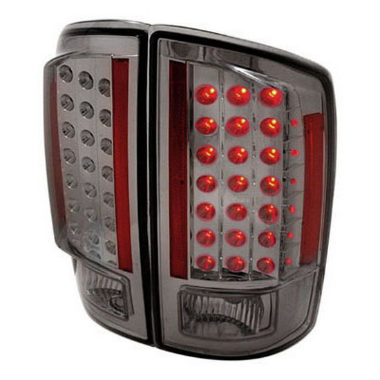02-09 Dodge RAM 1500/2500/3500 Smoked Lens LED Tail Lights