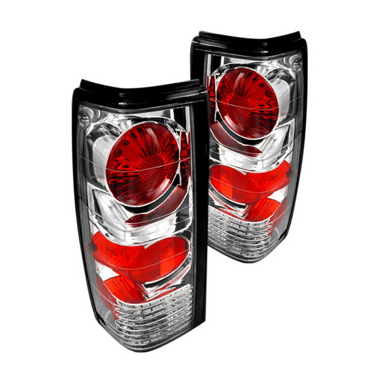 82-93 Chevy S10 Chrome Housing Euro Tail Lights