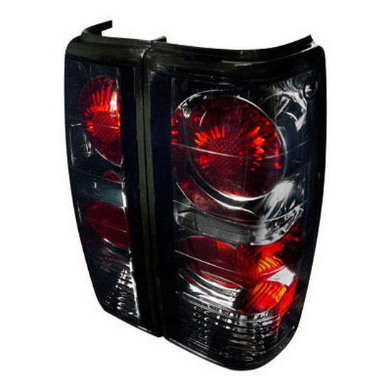 82 93 Chevrolet S10 Smoke Lens Altezza Style Tail Lights