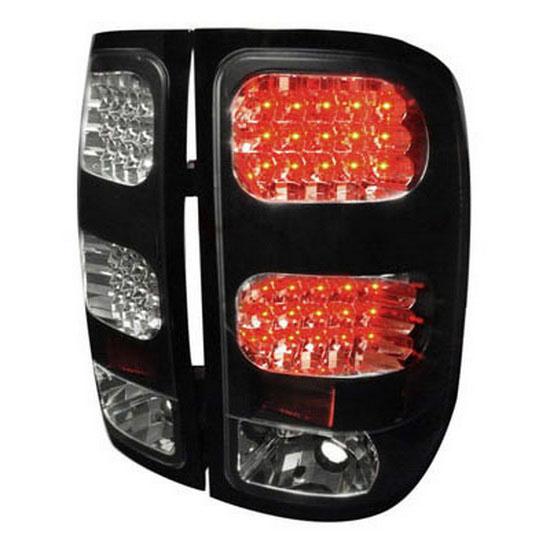 07-09 GMC SIERRA Black Housing LED Tail Lights