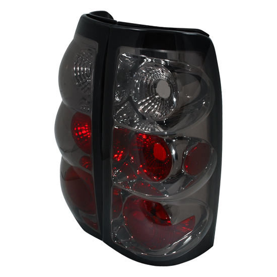 03-06 Chevrolet SILVERADO 1500/2500/2500HD/3500 Smoke Lens Euro Style Altezza Tail Lights