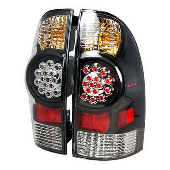 10 Toyota TACOMA Black Housing LED Tail Lights