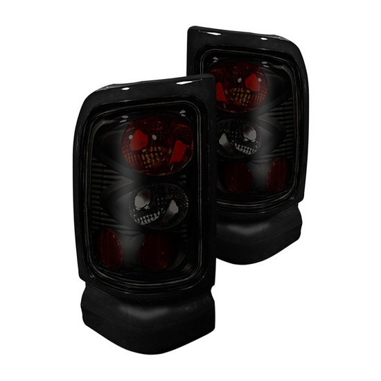 94-01 Dodge RAM Pick Up Black Housing Aftermarket Altezza Taillights