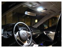 LED Interior Panel Light Upgrade on Lexus CT200h