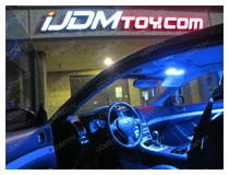 LED Interior Panel Light Upgrade on Infiniti G37