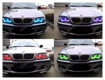 How to Install RGB BMW LED Angel Eyes