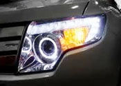 Custom Projector Halo Headlights
