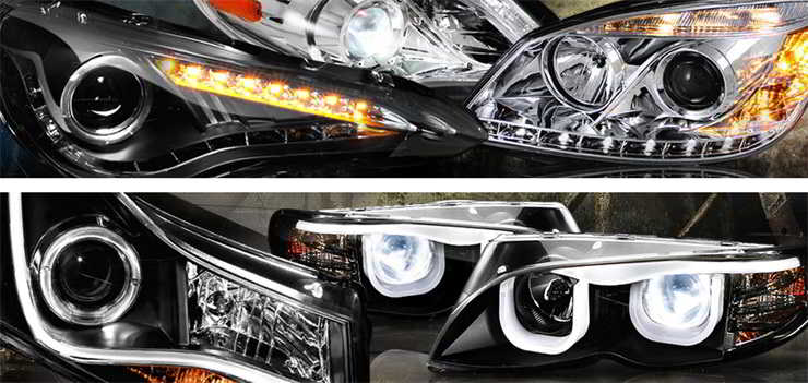 iJDMTOY Aftermarket Projector Headlights