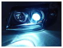 How to install HID for projector headlamps