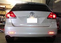 Toyota Venza LED Bumper Reflector Installation