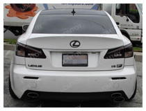 Lexus IS-F Smoked LED Bumper Reflectors