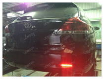 Toyota Venza with LED Bumper Reflectors