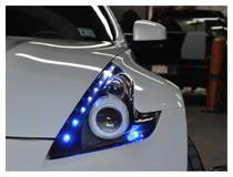 Headlight LED Decoration Based on Nissan 370Z