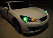 Retrofit Headlight LED Halo Rings