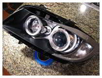 How to open headlight?