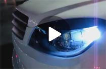 LED Bulbs on 2008 Mercedes Benz C300 Video Demo