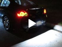 Bolt-On LED License Plate Lamp Video Demo