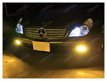 Mercedes CLS with Error Free LED bulbs