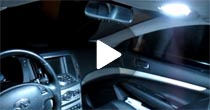 Infiniti G37 LED Interior Light Demo Video