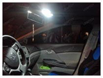 Honda Civic LED Interior Lights