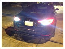 Kia Optima LED Backup Light Showcase