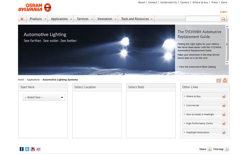 Sylvania Auto Bulb Guide >> How To Search By Bulb Size And Shop For Led Lights On