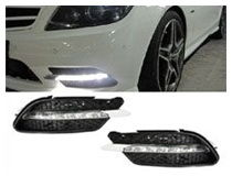 Mercedes W204 C-Class LED Daytime Running Lamps Installation (For 70-712)