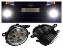 Toyota OEM Fit LED Fog/DRL Installation (For 70-727)
