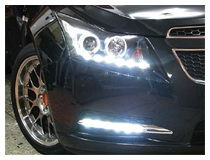 Chevrolet Cruze LED Daytime Running Lamps Installation (For 70-729)