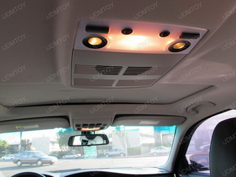 Bmw E60 5 Series Install Led Panel Lights For Interior Dome Lights