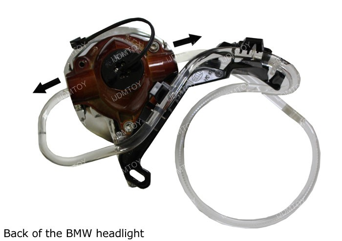 BMW Angel Eyes Installation Tip