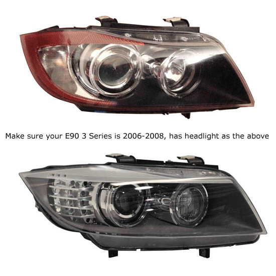 E90 AE bmw angel eyes led upgrade bulbs bmw e90 e91 3 325i 328i 330i 335i  at reclaimingppi.co