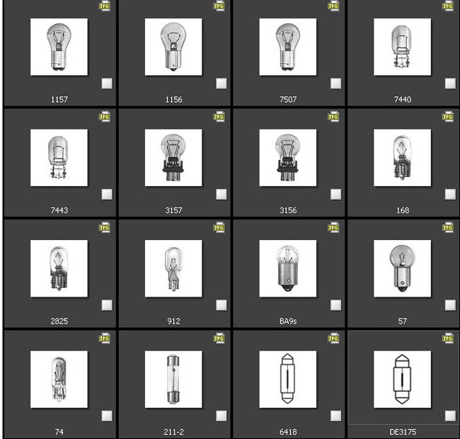 Request A Jeep Replacement Light Bulb Size Chart >> Led Fitment Guide Led Bulb Shopping Guide At Ijdmtoy Com Ijdmtoy