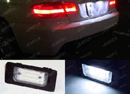 Installation DIY Guide Canbus OBC Error Free LED License Plate Light Lamp Modules for BMW 1 Series, 3 Series, 5 Series, X5 and X6