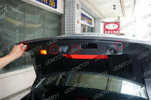 Mercedes C E S Error Free License Plate Lights