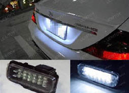 Installation DIY Guide Canbus OBC Error Free LED License Plate Light Lamp Modules for Mercedes W203 C Class, W211 E Class, W219 CLS Class
