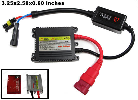 Osram Powered Digital Control Ultra Slim Ballast HID Conversion Kit, size H1 H3 H4 H7 H11 H13 9004 9005 9006 9007 9008 9145 9012 5202