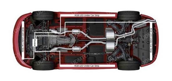 Under Car LED Underbody Light Kit Installation Guide — iJDMTOY.com