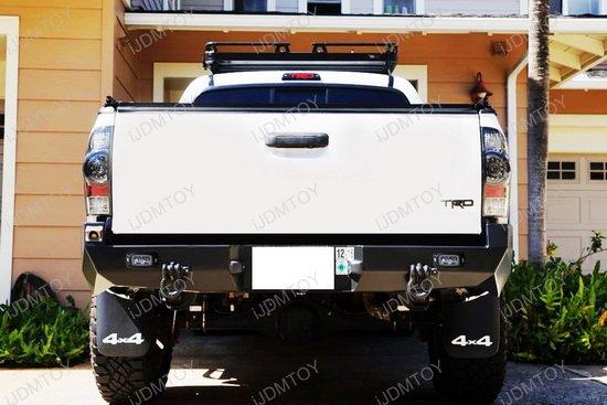 Flush Mount 10W CREE LED Backup or Driving Pod Lights For Car SUV Truck