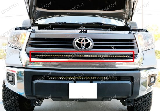 1 Piece Lower Bumper Grill Mount for 2014-up Toyota Tundra